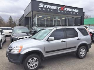 Used 2002 Honda CR-V EX | ACCIDENT FREE | ALL WHEEL DRIVE|CLARION SOUND for sale in Markham, ON