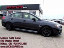 Used 2015 Subaru WRX STI CAMERA BLUETOOTH CERTIFIED WARRANTY for sale in Milton, ON