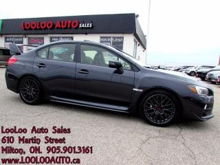 Used 2015 Subaru WRX STI CAMERA BLUETOOTH CERTIFIED WARRANTY for sale in Milton, ON
