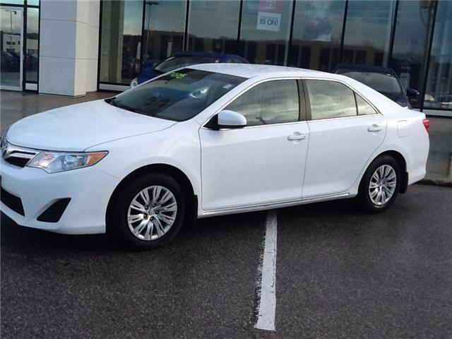 Owen Sound Toyota >> Used 2013 Toyota Camry Le For Sale In Owen Sound Ontario Carpages Ca
