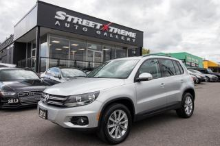 Used 2014 Volkswagen Tiguan Comfortline | Leather | Bluetooth for sale in Markham, ON
