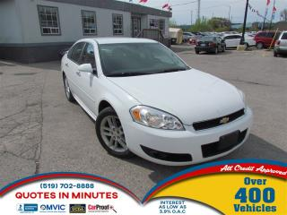 Used 2012 Chevrolet Impala LTZ | LEATHER | SAT RADIO | ALLOYS for sale in London, ON
