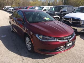 Used 2016 Chrysler 200 LX for sale in Owen Sound, ON