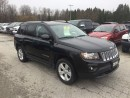 Used 2016 Jeep Compass NORTH 4x4~LEATHER TRIM SEATS~BT~SAT RADIO~HTD SEAT for sale in Owen Sound, ON