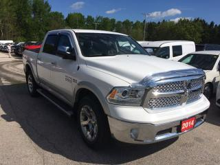 Used 2014 RAM Truck Laramie - Crew Cab 4X4 for sale in Owen Sound, ON