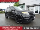 Used 2011 Ford Explorer Base W/ 4-WHEEL DRIVE, LEATHER UPHOLSTERY & REAR-VIEW CAMERA for sale in Surrey, BC