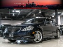 Used 2013 Mercedes-Benz S550 AMG NIGHTVISION DISTRONC MASSGE B.SPOT NAVI REAR CAM LOADED for sale in North York, ON