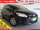 Used 2013 Ford Focus SE| ONE PRICE INTEGRITY| HEATED SEATS| for sale in Burlington, ON