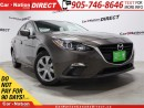Used 2014 Mazda MAZDA3 GX-SKY| LOW KM'S| PUSH START| GREAT ON GAS| for sale in Burlington, ON