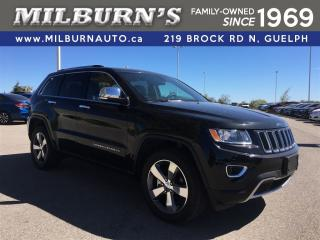 Used 2016 Jeep Grand Cherokee LIMITED 4X4 for sale in Guelph, ON
