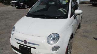 Used 2012 Fiat 500 Pop for sale in Chatsworth, ON