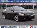 Used 2014 Nissan Maxima SV MODEL, LEATHER, SUNROOF, CAM, 6CYL, 3.5L for sale in North York, ON