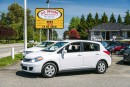 Used 2011 Nissan Versa 1.8 SL, Factory Navigation, Bluetooth, Loaded! for sale in Surrey, BC