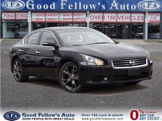 Used 2013 Nissan Maxima LEATHER, SUNROOF, NAVIGATION, 6 CYL, 3.5L for sale in North York, ON