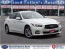 Used 2014 Infiniti Q50 AWD, LEATHER, SUNROOF, NAVIGATION, CAMERA for sale in North York, ON