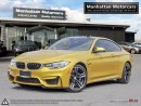 Used 2015 BMW M4 COUPE DCT |NAV|HEADSUP|PADDLESHIFT|NOACCIDENT|CAM for sale in Scarborough, ON
