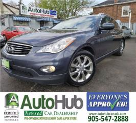 Used 2010 Infiniti EX35 AWD-LEATHER-ROOF-NAVI for sale in Hamilton, ON