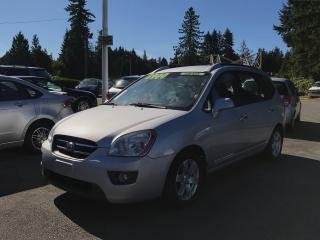 Used 2007 Kia Rondo EX Minivan, Local, Heated Seats, 4-Cylinder! for sale in Surrey, BC