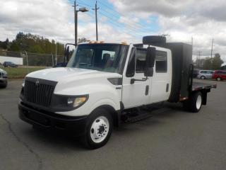 Used 2012 International TerraStar Crew Cab 9 Feet By 8.5 Feet Flat Deck Diesel for sale in Burnaby, BC