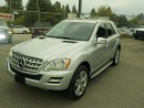 Used 2011 Mercedes-Benz ML 350 4MATIC for sale in Burnaby, BC