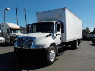 Used 2006 International 4300 DT460 22 Foot Cube Van W/ Air Brakes and Power Tailgate for sale in Burnaby, BC
