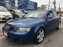 Used 2005 Audi A4 3.0L for sale in Scarborough, ON