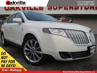 Used 2012 Lincoln MKT | LEATHER | PANO ROOF | B/U CAM | BLUETOOTH for sale in Oakville, ON