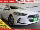 Used 2017 Hyundai Elantra GLS| SUNROOF| BACK UP CAMERA| TOUCH SCREEN| for sale in Burlington, ON
