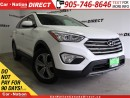 Used 2014 Hyundai Santa Fe XL | 7-PASSENGER| HEATED SEATS| LOCAL TRADE| for sale in Burlington, ON