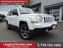 Used 2015 Jeep Patriot Sport/North W/ 4X4, LEATHER UPHOLSTERY & sunroof for sale in Surrey, BC