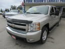 Used 2008 Chevrolet Silverado 1500 WORK READY LT EDITION 5 PASSENGER 5.3L - V8.. 4X4.. CREW.. SHORTY.. CD/AUX INPUT.. KEYLESS ENTRY.. for sale in Bradford, ON