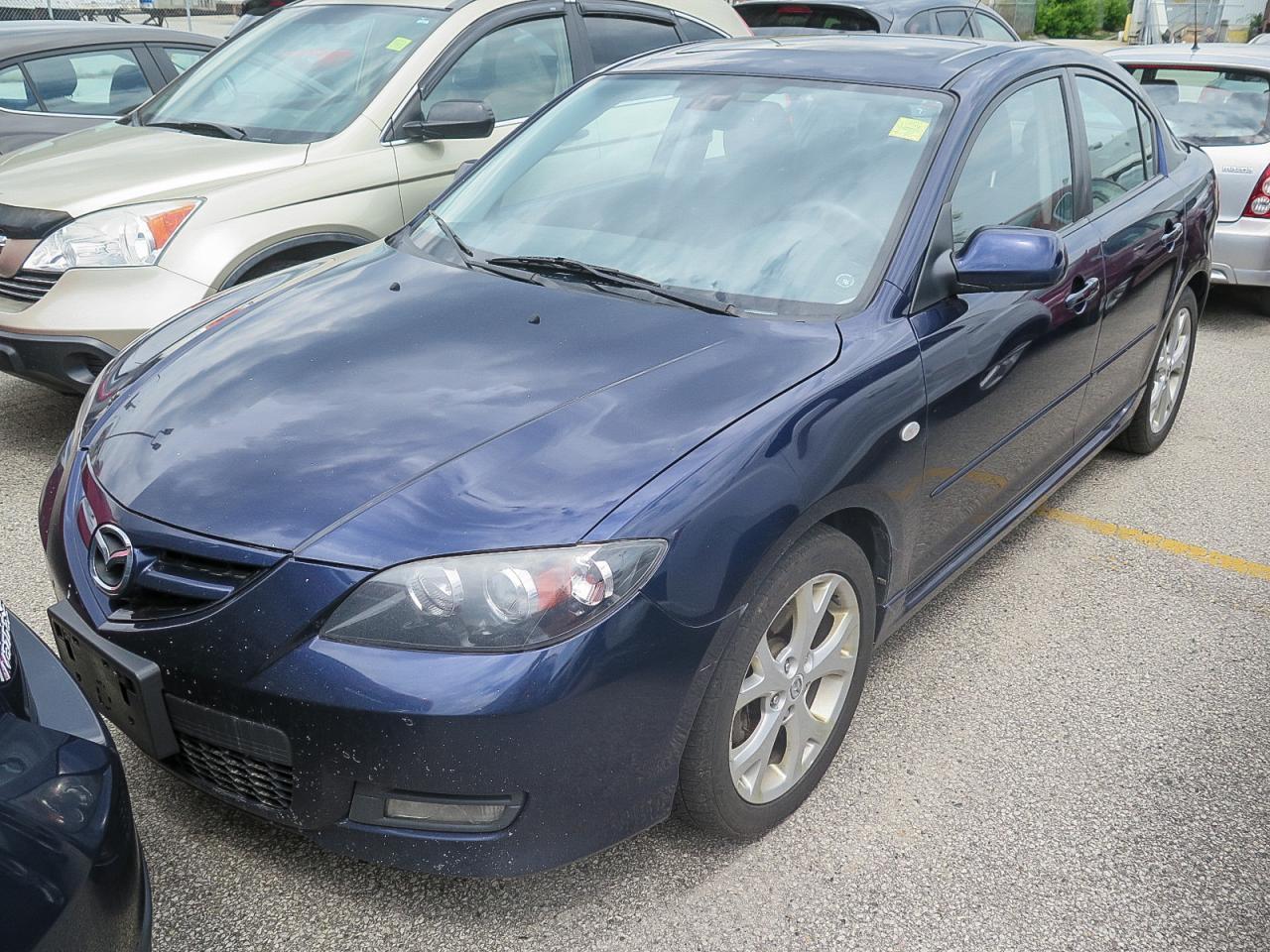 2008 Mazda MAZDA3 GT AUTOMATIC LOADED!!!