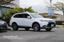Used 2016 Mitsubishi Outlander Navi, Leather Interior w/Woodgrain Trim, Power Driver Seat, Back Up Cam, Heated Front Seats, Keyless for sale in Richmond, BC