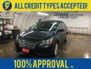 Used 2014 Nissan Sentra S*CVT*PHONE CONNECT*KEYLESS ENTRY*POWER WINDOWS/LOCKS/MIRRORS*CLIMATE CONTROL*AM/FM/CD/AUX*CRUISE CONTROL* for sale in Cambridge, ON