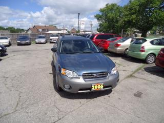 Used 2006 Subaru Outback 2.5i for sale in Sarnia, ON