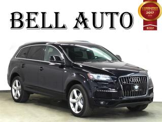 Used 2013 Audi Q7 3.0T S-LINE NAVIGATION PANAROMIC ROOF 7 PASSANGER for sale in North York, ON