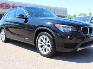 Used 2014 BMW X1 xDRIVE28i, SUNROOF, 240HP TWIN TURBO ENGINE, HEATED WHEEL, HEATED SEATS for sale in Edmonton, AB