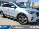 Used 2017 Hyundai Santa Fe XL LTD NAV PANO ROOF BLIND SPOT POWER TAILGATE Grey Leather Interior for sale in Edmonton, AB