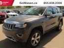 Used 2014 Jeep Grand Cherokee Eco-diesel, Navigation, Panoramic roof!! for sale in Edmonton, AB