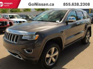 Used 2014 Jeep Grand Cherokee OVERLAND : Eco-diesel, Navigation, Panoramic roof!! for sale in Edmonton, AB