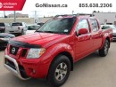 Used 2010 Nissan Frontier PRO-4X, 4x4, Crew Cab, Roof Rack, Blue Tooth for sale in Edmonton, AB