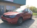 Used 2010 Ford Focus $112.77 BI WEEKLY! $0 DOWN! LEATHER & SUNROOF! for sale in Bolton, ON