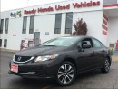Used 2014 Honda Civic Sedan EX - Sunroof - Lane watch for sale in Mississauga, ON