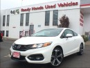 Used 2015 Honda Civic COUPE Si - Navigation - Sunroof - Spoiler for sale in Mississauga, ON
