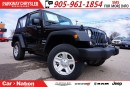 Used 2017 Jeep Wrangler SPORT| SOFT TOP| 6-SPD MT| for sale in Mississauga, ON