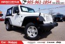Used 2017 Jeep Wrangler SPORT| SOFT TOP| 4X4| 6-SPD MT| BRAND-NEW for sale in Mississauga, ON