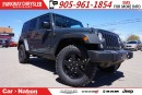 Used 2017 Jeep Wrangler Unlimited Unlimited Big Bear | 4X4 | RHINO COLOR for sale in Mississauga, ON