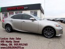 Used 2015 Lexus IS 250 F-Sport 2 AWD Navigation Camera Certified Warr for sale in Milton, ON