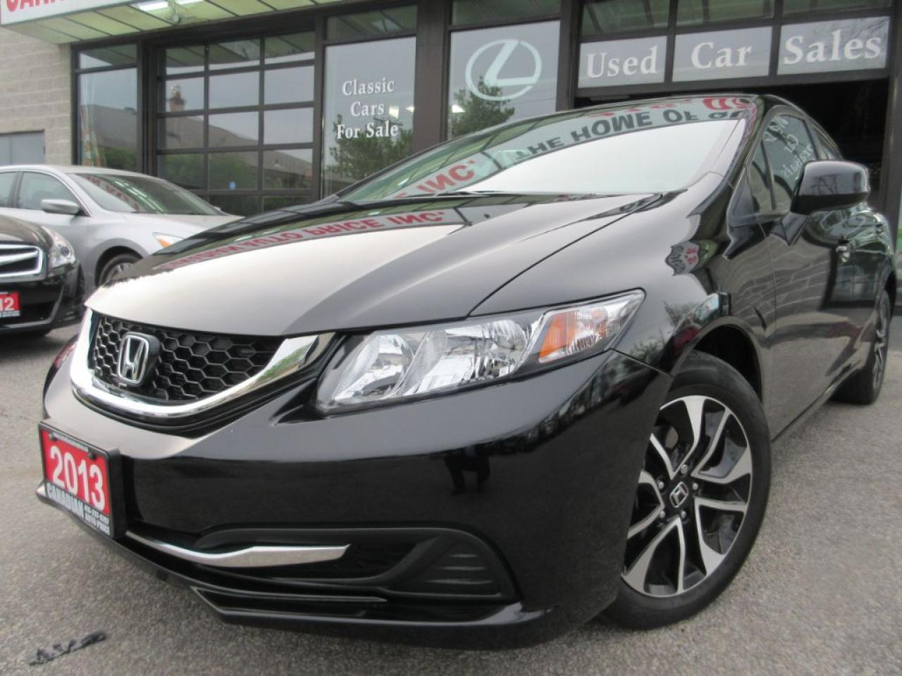 2013 Honda Civic EX-SUN-ROOF-ALLOYS-CAMERA