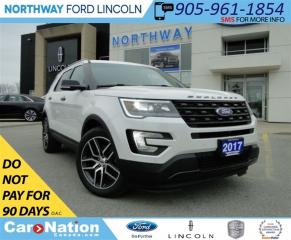 Used 2017 Ford Explorer Sport | NAV | PANO ROOF | LEATHER | REAR CAM | for sale in Brantford, ON